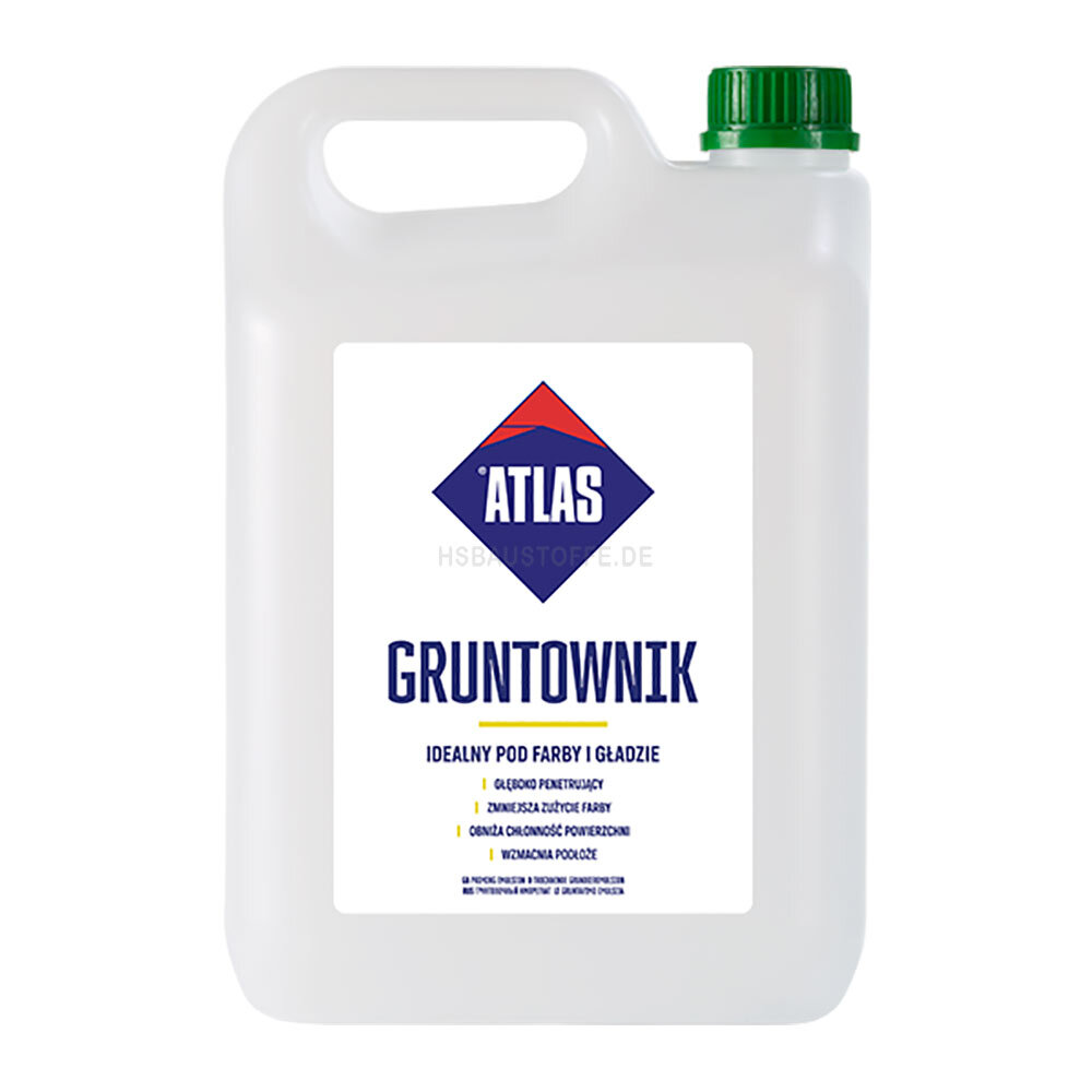 grundierung atlas grundieremulsion uni grunt gruntownik gruntoplast